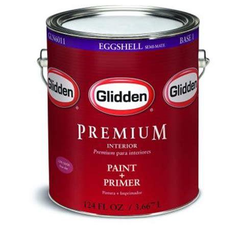 glidden premium 1 gal eggshell interior paint gln6011 01