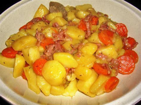 pommes de terre lardons au vin blanc recettes cookeo