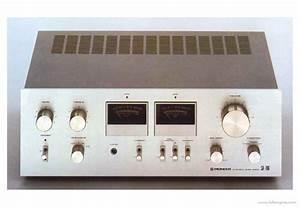 Pioneer Sa-706 - Manual