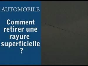 Attenuer Rayure Voiture : automobile comment retirer une rayure superficielle sur votre voiture youtube ~ Melissatoandfro.com Idées de Décoration