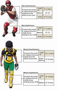 Softball Catchers Gear Sizing Chart Wilson Pro Stock Chest Protector