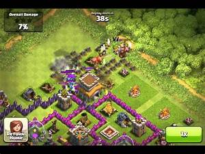 Clash of clans - TownHall attacked failure, also my mortar ...