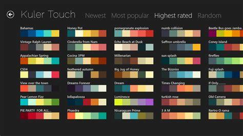 best color palettes nuanciers en ligne arts et voyages