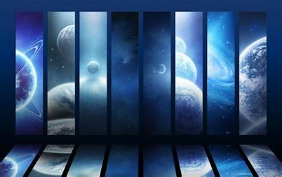 Space Panels Wallpapers Desktop Planet Backgrounds Mobile