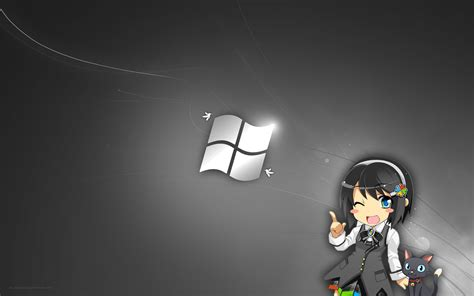 Windows Anime Wallpaper - anime windows wallpaper 1680x1050