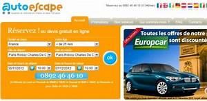 Location Voiture Autoescape : la location voiture discount un bon plan propos par euroescape ~ Medecine-chirurgie-esthetiques.com Avis de Voitures