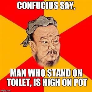 confucius says - Imgflip