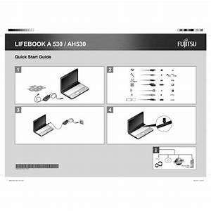 Fujitsu Lifebook Ah530 Laptop User Guide Manual Technical