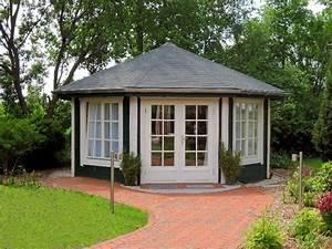 Holzpavillon Selber Bauen : gartenpavillon holz sechseckig selber bauen ~ Orissabook.com Haus und Dekorationen