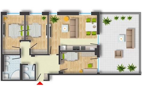floor plan rendering  photoshop arch studentcom