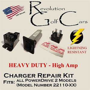 Battery Charger Repair Kit  For Club Car 48 Volt  Powerdrive2  22110