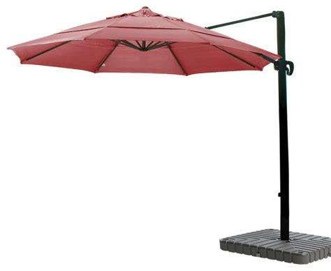 11 cantilever umbrella multi positon tilt bronze