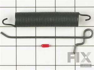 Oem Whirlpool Dishwasher Door Spring Assembly With