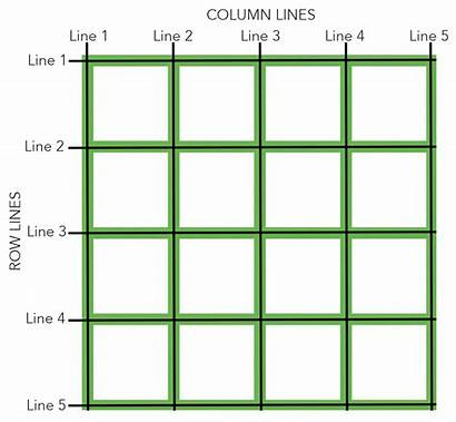 Grid Lines Layout Drawing Column Row Columns