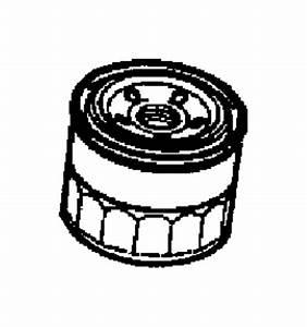 Dodge Stealth Engine Oil Filter  Components  Liter  Outer