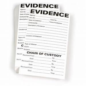 Rancangan Form Chain Of Custody