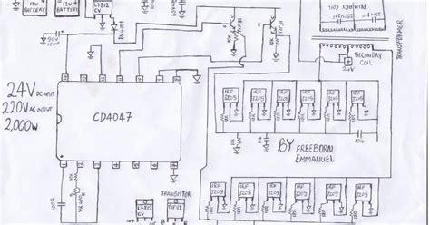 How Build Kva Inverter Circuit Diagram Watt