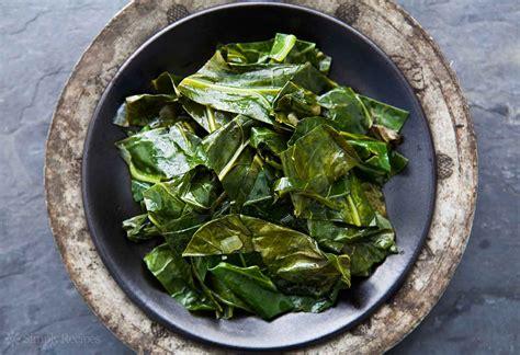 how to cook greens best collard greens recipe simplyrecipes com