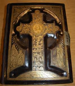 Antique Catholic Family Bible