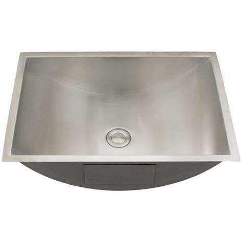 stainless steel undermount bathroom sink ticor s730 undermount stainless steel bathroom sink