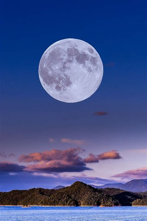 beautiful full moon view places world wow style
