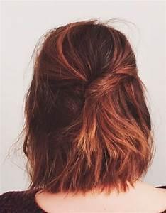 Coiffure Pour Cheveux Mi Longs : coiffure simple cheveux mi longs coiffure simple 20 jolies id es pour les filles press es elle ~ Melissatoandfro.com Idées de Décoration