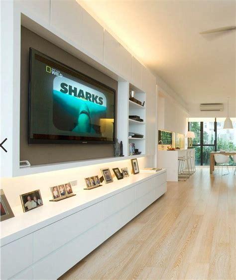 Besonderer wert sollte auf die qualität der ware gelegt werden, denn keine sterbensseele hat design: Moderne Wohnwand mit LED Beleuchtung - 55 Ideen | Wohnen ...