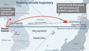 North Korea Fires Two Nodong Missiles That Land Within ...