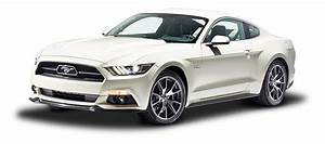 White Ford Mustang GT Fastback Car PNG Image - PngPix
