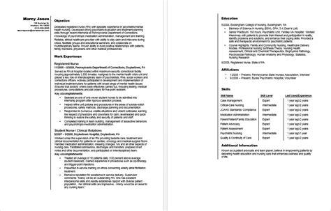 registered rn resume sle
