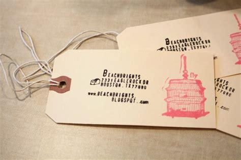 Stand Out With 25 Diy Business Cards  Brit + Co