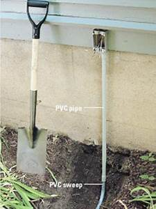 running underground electrical wire outside wiring With running wire outdoor lighting