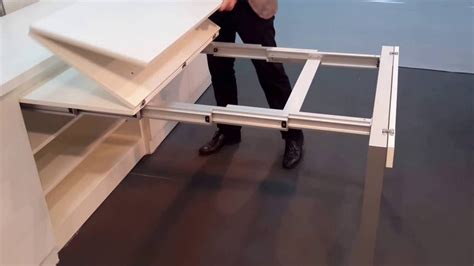 Kitchen Island - kitchen pull out table youtube