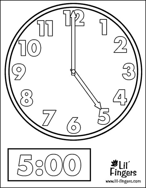 clock coloring page coloring pages for clock coloring pages for