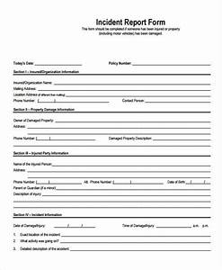 Free 28  Accident Report Forms In Pdf