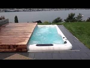 Abdeckung Whirlpool Jacuzzi : terrassendeck whirlpoolabdeckung automatisch doovi ~ Markanthonyermac.com Haus und Dekorationen