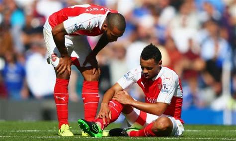 Arsenal blow! Francis Coquelin to miss League Cup clash ...