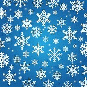 Snowflake background Free vector in Adobe Illustrator ai