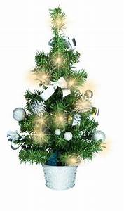 Künstlicher Weihnachtsbaum Geschmückt : k nstlicher tannenbaum weihnachtsbaum 45cm mit led ~ Michelbontemps.com Haus und Dekorationen