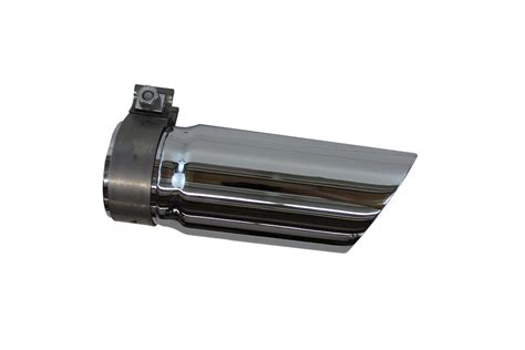 genuine nissan exhaust tip stainless steel