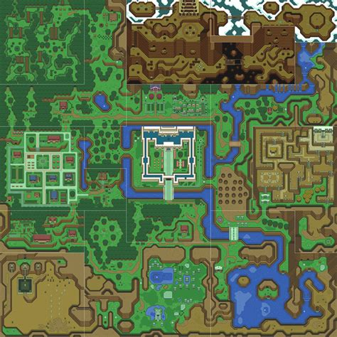 creating the legend of zelda map tiles from bing maps