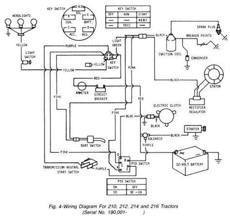 wiring diagram jd214 john deere tractor forum gttalk