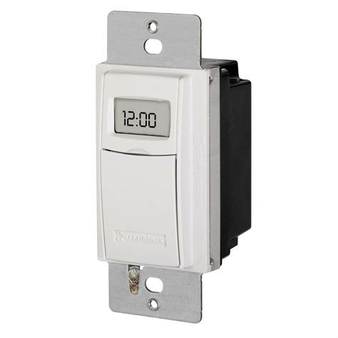 intermatic st01 self adjusting programmable wall switch