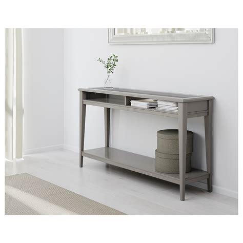 Liatorp Console Table Greyglass 133 X 37 Cm Ikea