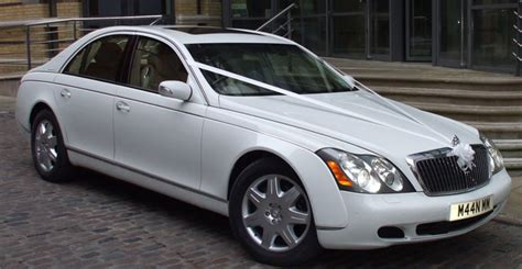 White Maybach Car Hire