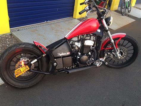 ajs daytona 350 bobber motos