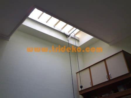 atap void buka tutup atap kanopi kaca atap skylight