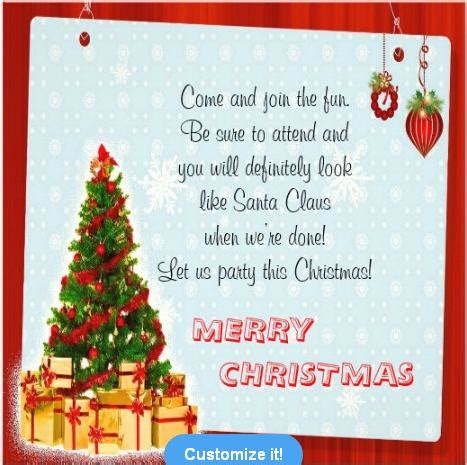 christmas invite quotes invitations and invitation wording easyday