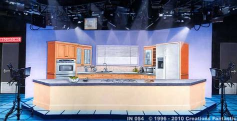Kitchen Photo Backdrop by Backdrop In 054 Tv Kitchen Studio