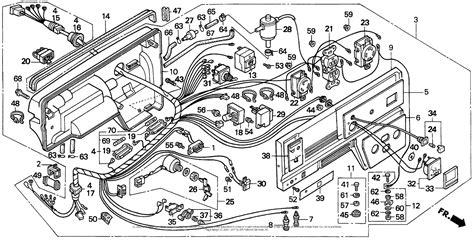 honda em5000sx a generator jpn vin ea7 1000001 parts diagram for em5000sxcontrol box